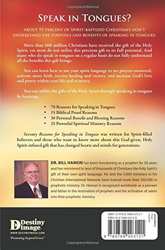Dr Bill Hamon Sevent Reasons for Speaking in Tongues- Back