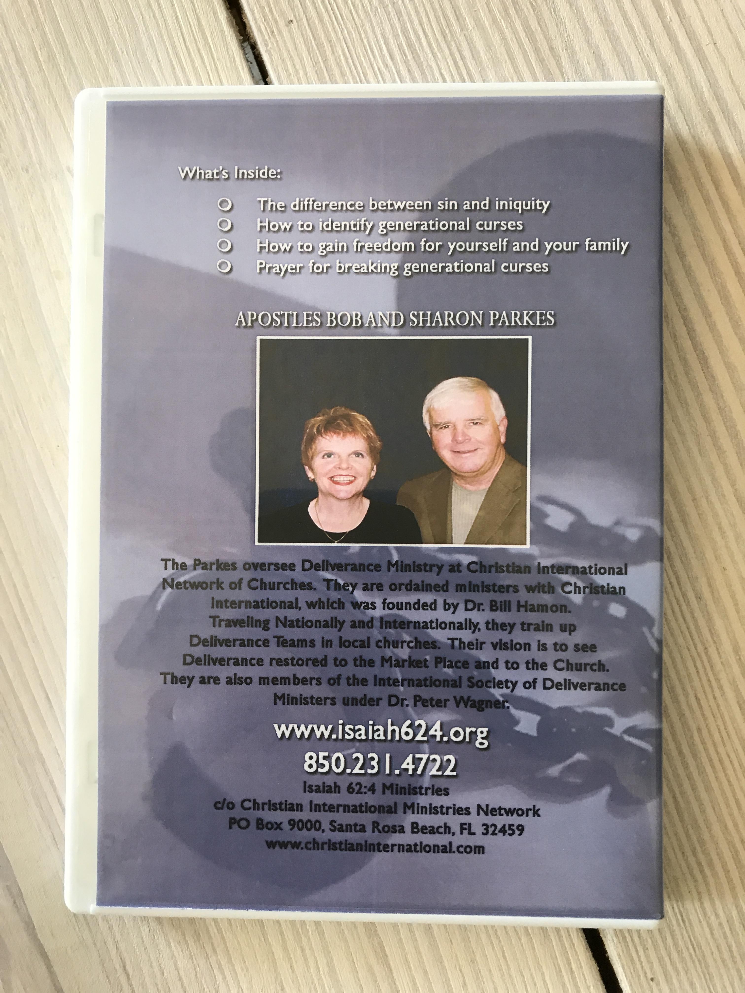 Breaking Generational Curses - (1) CD