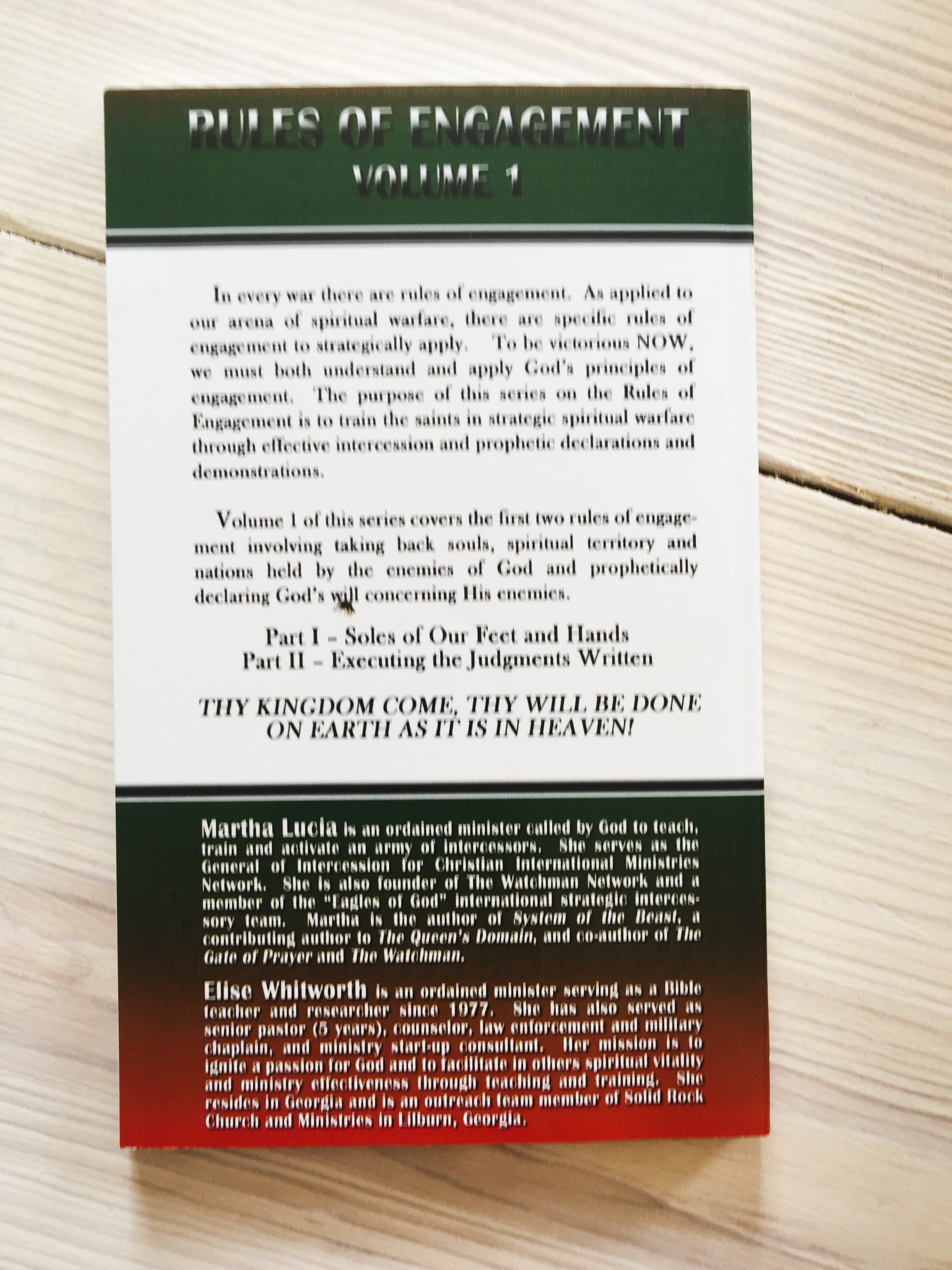 Rules of Engagement Vol  1 - Strategic Principles of Prayer and  Intercession - Paperback
